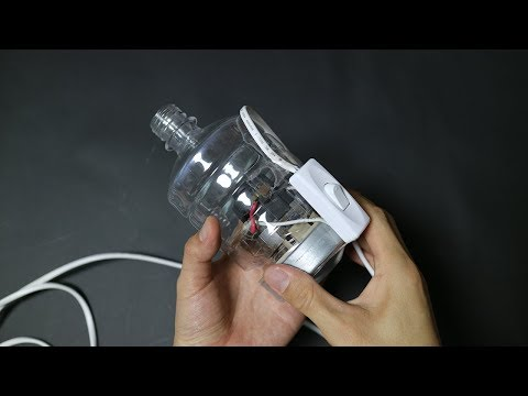 How to make a Powerful Air Blower using a Vacuum Cleaner Motor