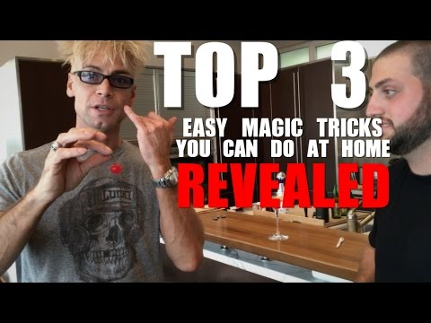 TOP 3 EASY Magic Tricks YOU CAN DO AT A BAR (REVEALED / EXPLAINED)