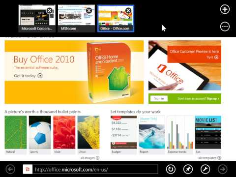 Windows 8.0 Professional - Close All Tabs