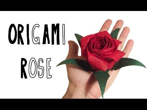 Origami Pentagonal Rose (Riccardo Foschi) - Inspired by Naomiki Sato's and Kawasaky's Rose
