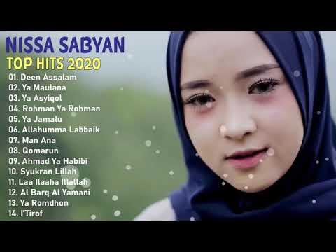 Download Nissa Sabyan [ Full Album 2020 ] 💙 LAGU SHOLAWAT NABI MERDU TERBARU 2020 Penyejuk Hati MP3 Gratis