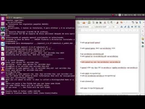 Instalar OpenSSL