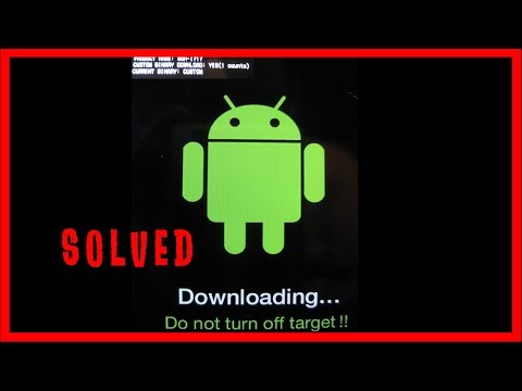 How to Solve Downloading Do not Turn off Target !! Problem in Android Smartphone - SOLVED