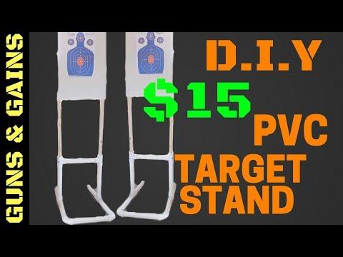 D.I.Y PVC Target Stand | Guns & Gains