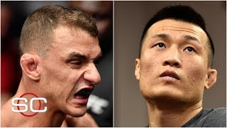 Renato Moicano, Korean Zombie looking to get back on track at UFC Fight Night | SportsCenter