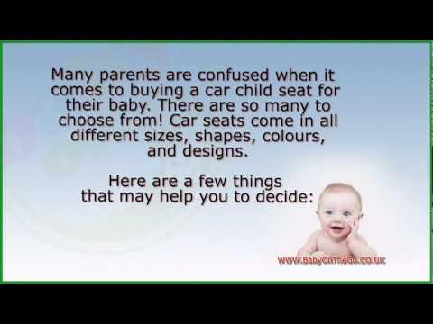 Choosing a Car Child Seat