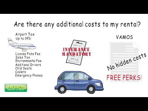 Any Additional Costs To My Rental? Vamos Rent-A-Car - Official Channel