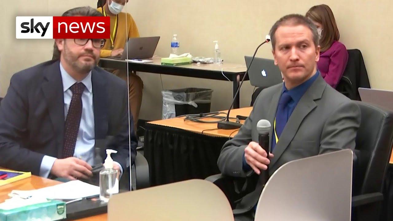 Derek Chauvin refuses to testify