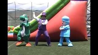 pocoyo bailando gangnam style - baile del caballo www.renos.cl  강남스타일 smurfs los pitufos