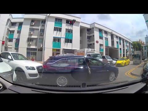 15may2018 opel station wagon hit audi while parking @ serangoon north