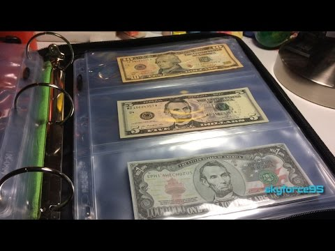 BCW Pro 3 Pocket Currency Page Review