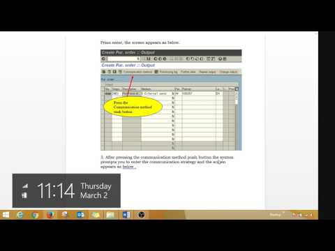 How to send Purchase Order automatically to Vendor in SAP MM