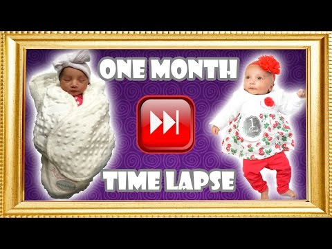 Baby's First Month Time Lapse