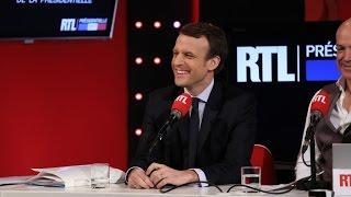 La chronique de Laurent Gerra devant Emmanuel Macron