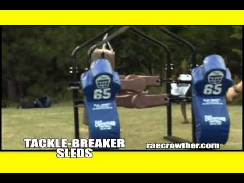 Tackle-Breaker Sleds - Rae Crowther Co.