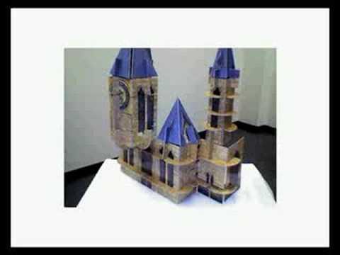 Hogwarts Building Cards - Build a Basic Castle