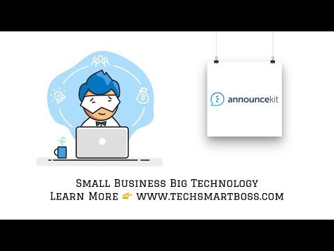 Keep Your Stakeholders In The Loop With Announcekit (Onboarding and Review)