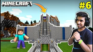 FINALLY I MADE MY CASTLE | MINECRAFT GAMEPLAY #6