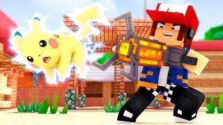 Minecraft: ARMA PARA CAPTURAR POKÉMON !! (Parque Pokémon #07)