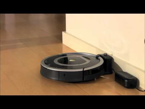 iRobot Roomba Vacuuming Robot 700 Series - How To Charge & Store Battery