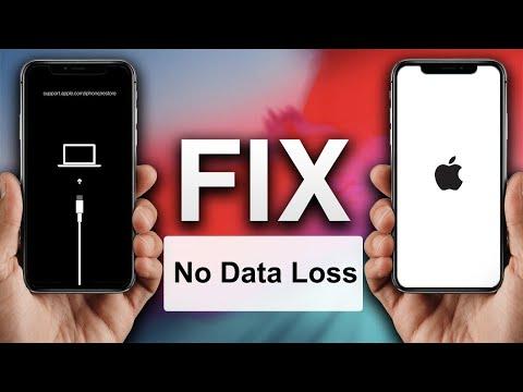 FIX Stuck At iTunes Logo/Apple Logo Without Data Loss iPhone,iPad,iPod