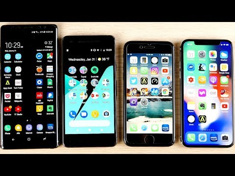 10 Reasons Android Phones are Better than iPhones (2018)