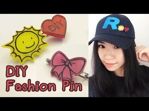 Cute Pins DIY - Upcycle DIY | Sunny DIY