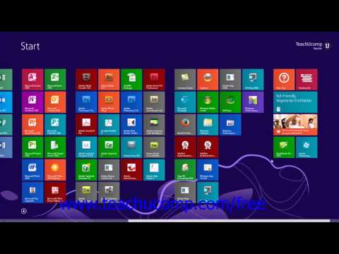 Windows 8.1 Tutorial Customizing the Start Screen in Windows 8.1 Microsoft Training Lesson 1.3