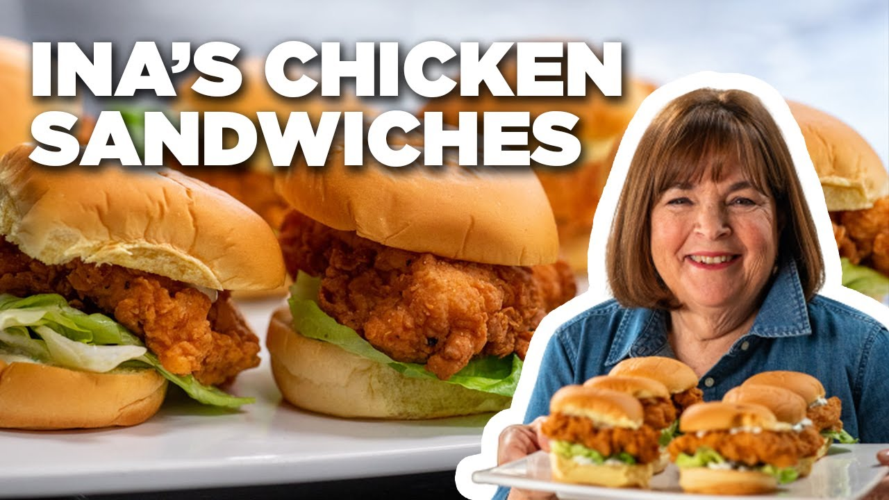Barefoot Contessa's Fried Chicken Sandwiches | Barefoot Contessa: Cook Like a Pro | Food Network