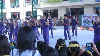 CIS Intrams 2013 2nd Year Cheerdance