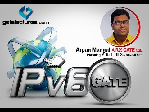 IPv6 Internet Protocol version 6 for GATE part 1