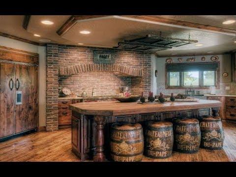 Rustic Kitchen Design & Decor Ideas