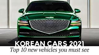 10 Newest Korean Cars Covering All Auto Segments from Cheapest to Luxury in 2021