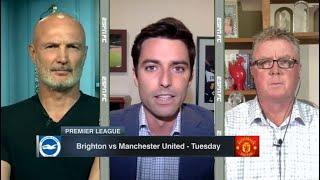 [FULL] ESPN FC | Manchester United vs Brighton Pre-Match Analysis, Steve Nicol reacts