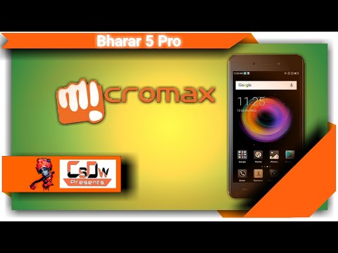[ Hindi ] Micromax Bharat 5 Pro Smartphone launch, Full SPECIFICATION, Reviews in Hindi.