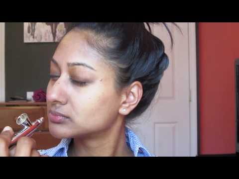 Luminess Air Airbrush Makeup Demo | Makeup By Megha