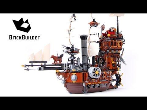 Lego Movie 70810 MetalBeard's Sea Cow - Lego Speed build