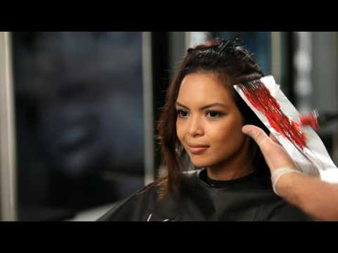 Keune Lift and Color: Create Red Highlights or Lowlights in One Treatment