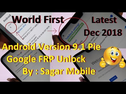 Android 9 Frp Bypass Solution Latest   By Sagar Mobile