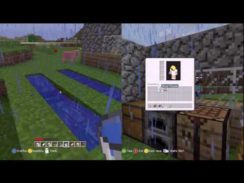 Minecraft: Xbox 360 Edition (Split-Screen) | Part 4 | ROOFS R' US