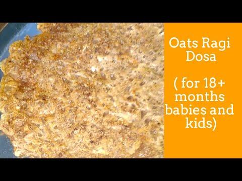 Oats Ragi dosa    Healthy Breakfast recipe     Homemade food
