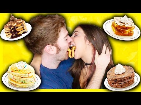TASTING CRAZY PANCAKES with THE GABBIE SHOW!
