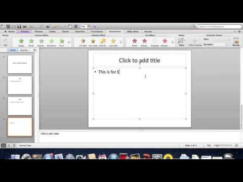 How to Add Animation to PowerPoint