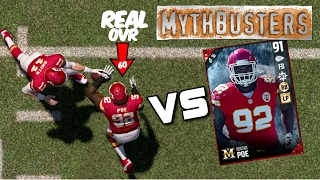 CAN OUT OF POSITION PLAYERS REALLY PLAY OUT OF POSITION?? Madden 17 MYTHBUSTERS