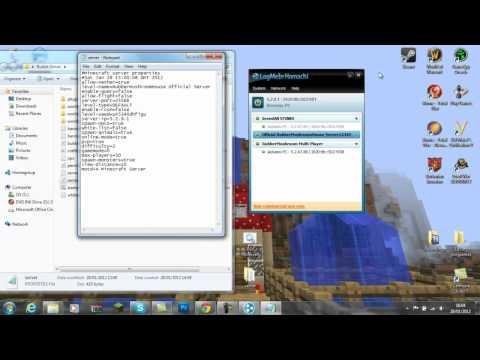 How to Make a Bukkit Server 1.2.5 (Hamachi)