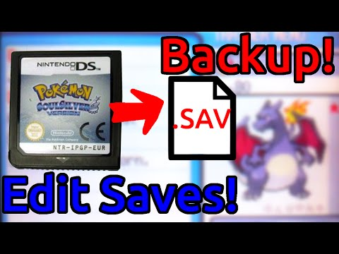 Backup DS Save files using a 3ds! (No Flash cart needed!) Copy/Edit/Convert