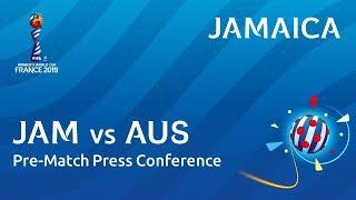 JAM v. AUS - Jamaica - Pre-Match Press Conference