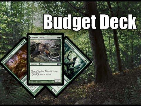 MtG - Budget Deck Tech: Mono Green