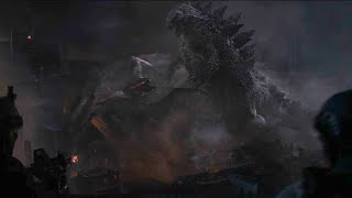 Godzilla vs MUTOs - HD Brightened - Godzilla 2014