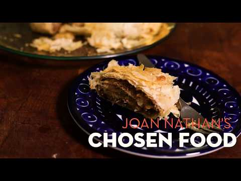 Joan Nathan's Cabbage Strudel